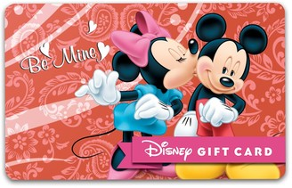 Disney Mouse ''Be Mine'' Gift Card