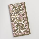 Pink and Green Kerani Floral Napkins Set of 4