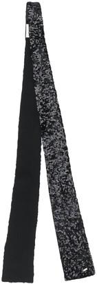 Saint Laurent Sequin-Embellished Skinny Scarf