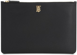 Burberry Phyllis Ru6 Leather Pouch