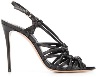 Casadei Strappy 110mm Ring Sandals