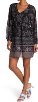 Thumbnail for your product : Love Stitch Boho Floral V-Neck Mini Dress