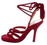 Dolce & Gabbana Platform Tassel Sandals