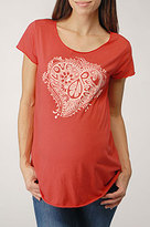 Peace Heart Maternity T-Shirt
