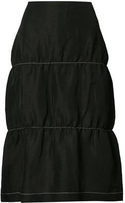 Wales Bonner Flared Style Skirt