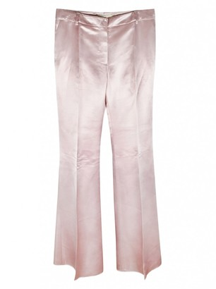 Mulberry Pink Viscose Trousers