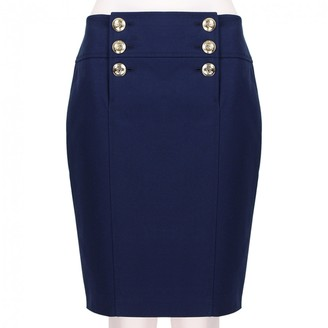 Emilio Pucci Blue Cotton Skirt for Women