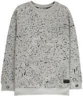 Munster Marl Fleck Splatter Sweatshirt
