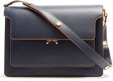 Marni Trunk large leather shoulder bag