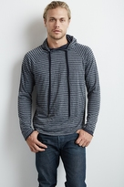 Chaz Double Layered Stripe Hoodie