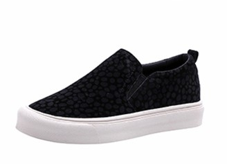 Goodnight Macaroon 'Tammy' Leopard Print Slip On Sneakers (2 Colors)