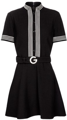 Gucci Wool crepe minidress