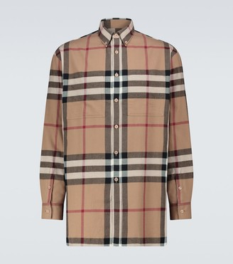 Burberry House check flannel shirt