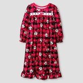 Toddler Girls' Disney® Minnie Mouse Nightgown - Red Plaid