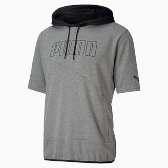 Puma Train Men's Lightweight Short Sleeve Hoodie