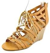 American Rag Kyle Women Open Toe Synthetic Wedge Sandal.