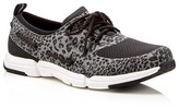 Sperry Ripple Rush Leopard Print Lace Up Sneakers