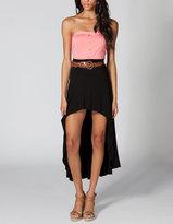 Full Tilt Exaggerated Hi-Low Skirt
