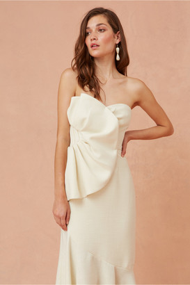 Keepsake BE FREE MIDI DRESS creme