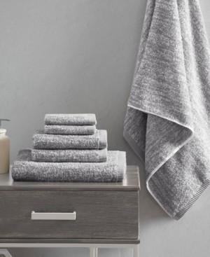 Madison Home USA Signature Melange Turkish Cotton Intermingle Jacquard 6-Pc. Towel Set Bedding