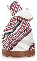 Carven Women's White Fabric Tote.