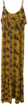 Michael Kors Yellow Polyester Dresses