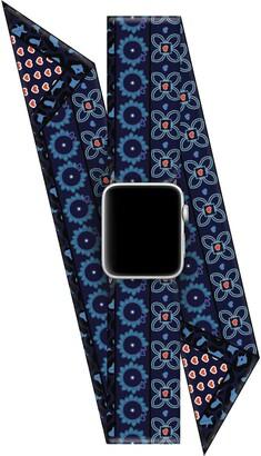 Wristpop Blueberry Pop 42mm/44mm Apple Watch Scarf Watch Band