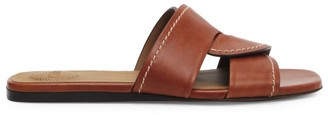 Chloé Candice Flat Leather Sandals