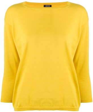 Aspesi Boat Neck Sweater