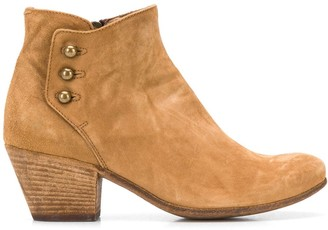 Officine Creative Side-Buttoned Ankle Boots
