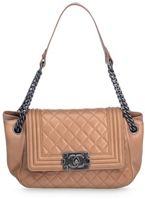 Chanel Pre Owned Boy Accordion Flap bag