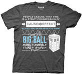 Ripple Junction Doctor Who 'Wibbly Wobbly Timey' Tee - Men's Regular