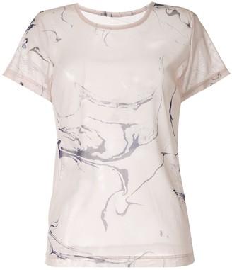 Y's ink print T-shirt