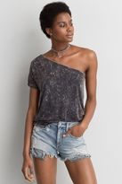 American Eagle Outfitters AE Soft & Sexy One Shoulder T-Shirt