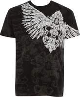 Sakkas T785 - Kevin Eagle Wide Wing Printed Mens T-Shirt - L