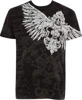 Sakkas T785 - Kevin Eagle Wide Wing Printed Mens T-Shirt