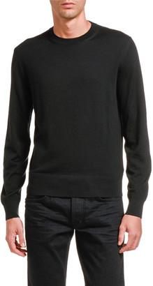 Tom Ford Men's Fine-Gauge Merino Crewneck Sweater