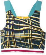 NO KA 'OI No Ka' Oi - 'Male' cropped top - women - Polyamide/Polyester/Spandex/Elastane - 0