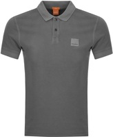 BOSS ORANGE Pascha Polo T Shirt Grey
