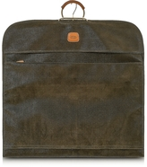 Bric's Life Olive Green Micro-Suede Garment Bag