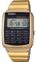 Casio Mens Quartz Watch, digital Display and Stainless Steel Strap CA-506G-9AEF