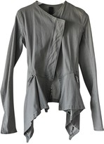 Rick Owens Lilies Grey Denim - Jeans Jacket for Women