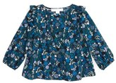 Burberry 'Mini Abril' Floral Print Long Sleeve Top (Baby Girls)