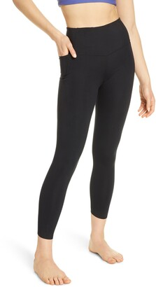 Zella High Waist Studio Lite Pocket 7/8 Leggings