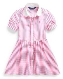 Polo Ralph Lauren Toddler Girls Striped Shirtdress