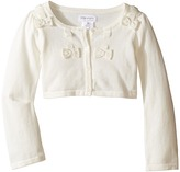 Us Angels Bow w/ Scalloped Edge Cardigan (Toddler/Little Kids)