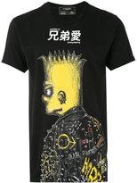 Dom Rebel printed T-shirt - men - Cotton - S