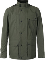 Belstaff hooded field jacket - men - Polyester/Polyurethane - 46