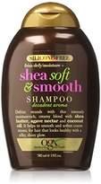 OGX Silicone-Free Frizz-Defy Moisture + Shea Soft and Smooth Shampoo, 13 Ounce