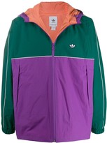 adidas colour block sport jacket